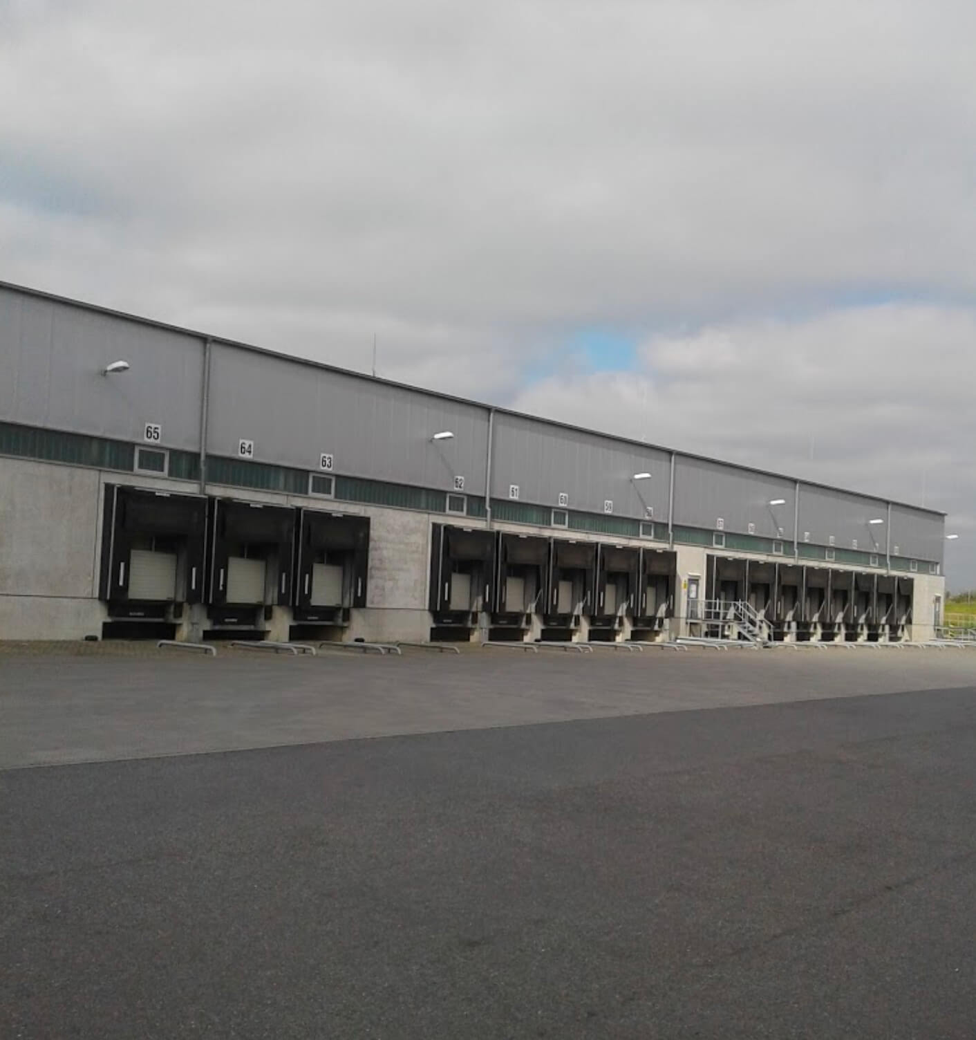9,500m2 Warehouse Extension